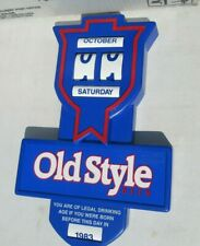 New listing Old Style 14x9 Legal Drinking Age sign/calendar Nice