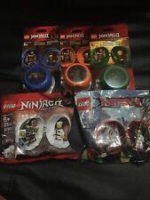 Lot Of 5LEGO NINJAGO Training Pod 853758 ,853759,5005230,5004926 853899