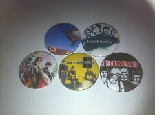 5 The Cranberries Button Badges 25mm Animal Instinct Zombie Linger Dreams Stars