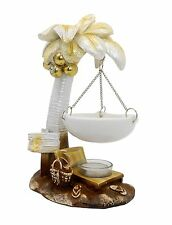 Tropical themed oil base incense burner / Gift, favor / Home decorative # 1314