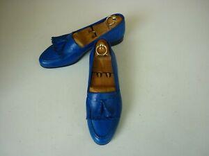 """VITO by LM """"Handmade"""" Design-Tassel Loafer, Ziegenleder ,Gr:41,5  neuw.,345,00€"""