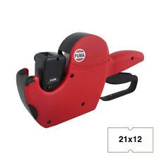 Puma PJH6 CT1 Pricing Price Hand Label Gun 1000 Labels +1 Ink Roller 21mm x 12mm