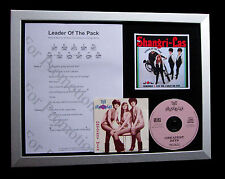 SHANGRI-LAS Leader Of The Pack TOP QUALITY CD FRAMED DISPLAY+EXPRESS GLOBAL SHIP
