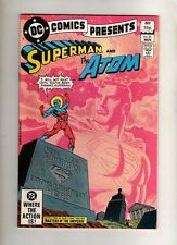 SUPERMAN AND THE ATOM  - DC COMIC -NOV 1982 - VOL 5 # 51 - GOOD