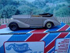 1/43 Record  (France) Hotchkiss 686 1939 Handmade Resin Model Car