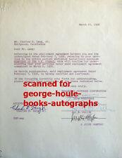 Hal B. Wallis - Document - Signed - 1956 - Gunfight At O.K. Corral - Casablanca