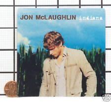 NEW RARE JON MCLAUGHLIN INDIANA PROMO STICKER DECAL B8