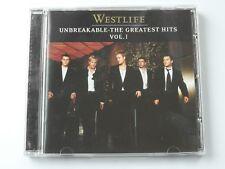 Westlife - Unbreakable Greatest Hits Volume One (CD Album 2002) Used Very Good