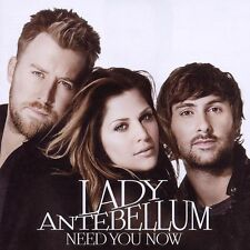 Lady Antebellum  NEED YOU NOW: CD ALBUM (2010)