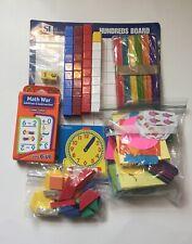 Set Of Different Math Manipulatives & Activities Classroom Homeschool Summer