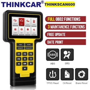 THINKCAR OBD2 Scanner ABS SRS Code Reader Diagnostic Tool EPB TPMS Reset Tool
