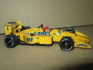 835Q Onyx Lotus Honda 100 T #1 Formula 1 Nelson Piquet 1988 F1 Gp 1:43
