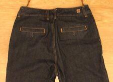 Luxirie by LRG women's denim jeans Sz 30 W-30 L-32.5 R-7.5 Flare EUC