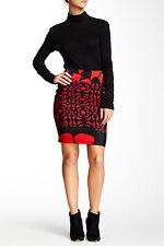 Analili Womens Print Jersey Skirt XS