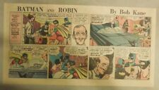 Batman Sunday by Bob Kane from 9/10/1967 Third Page Size Full Color!