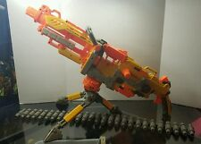 Nerf N-Strike AUTOMATIC FIRE VULCAN W/BELT Sniper Shot Riflle LONG WAR PARTY MOD