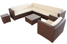 Garten-Tische & Bank-Sets mit bis zu 8 aus Polyrattan