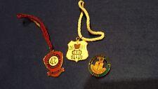 SET 3 HENLEY ROYAL REGATTA & REMENHAM & LEANDER CLUBS  2001 BADGES -ROWING