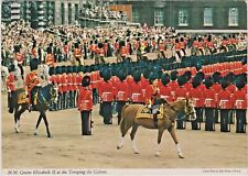 H.M. Queen Elizabeth II at the Trooping the Colour Ceremony in London, England