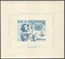 Albania 1959 Human Rights 10th Anniversary/UN/Welfare/People 1v impf m/s n21102