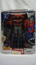 TRANSFORMERS CYBERTRON ROBOTS IN DISGUISE OPTIMUS PRIME LEADER NEAR MINT *RARE*!