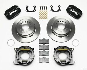 Wilwood Forged Dynalite P/S Park Brake Kit New Big Ford 2.50in Offset - 140-7140