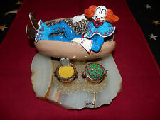 """VERY RARE!!!!!!!!!!!!!! RON LEE SIGNED SCULPTURE """"A BOZO LUNCH"""""""
