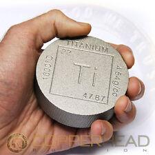 One Pound (16oz) Titanium Coin Element Design .996 CP1 Bullion Round Bar 1 lb