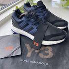 Adidas Y-3 Pureboost BY8956 Blue Black - UK Size 8.5 - New w/ Tags + Bag