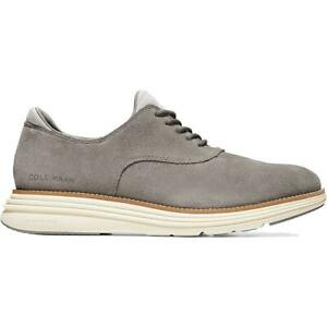 Cole Haan Mens Original Grand Ultra Suede Lace Up Oxfords Shoes BHFO 3663