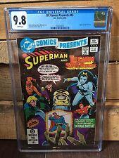 DC COMICS PRESENTS #43 CGC 9.8 NM/MT LEGION OF SUPER-HEROES - BOLLAND COVER