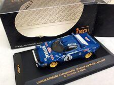 IXO 1/43 RAC081 Lancia Stratos 1st Monte Carlo Rally 1979 DARNICHE     BOXED