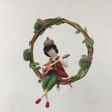 Christmas Fairy Wool Felting Kits for Beginners 15cm Height Video Description