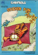 Garfield sticker coloring book RARE UNUSED 1