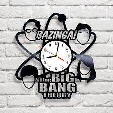 Bazinga BBT [ 5 ] vinyl record wall clock art home shop club office move bedroom