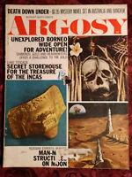 ARGOSY Magazine August 1970 Ivan T. Sanderson Incas Borneo Lake Titicaca