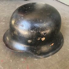 Wwii German M42 Helmet No Liner Good Shape