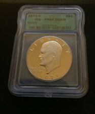 1971 S SILVER EISENHOWER DOLLAR $1 ICG PR69 DCAM
