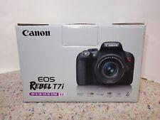 NEW! Canon Rebel T7i Camera W/ 18-55 IS STM Lens KIT!