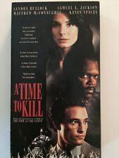 A Time to Kill (VHS) Sandra Bullock Samuel Jackson Kevin Spacey Matt McConaughey
