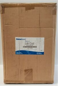 Fisherbrand  Disposable SMS Purple Lab Coat  SIZE- MEDIUM  30 PK   # 17-100-834A