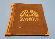 1888 Mitchell's Atlas Of The World