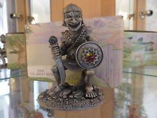 Myth & Magic - 5004 The Great Goblin - RARE Tudor Mint Hobbit Tolkien Orc + Box