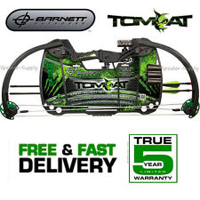 NEW BARNETT TOMCAT JUNIOR COMPOUND BOW  1103 W/  ARROWS AND SIGHT KIDS YOUTH BOW
