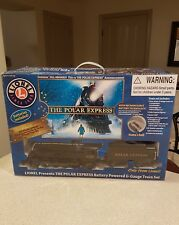 LIONEL POLAR EXPRESS CHRISTMAS G-GAUGE TRAIN SET 2009  IN EX COND READY FOR USE.