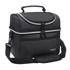 Kato Insulated Lunch Bag, Leakproof Thermal Bento Cooler Tote for Women and Men,
