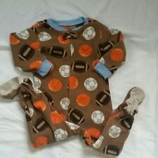 Carter's one-piece footed pajamas size 18m