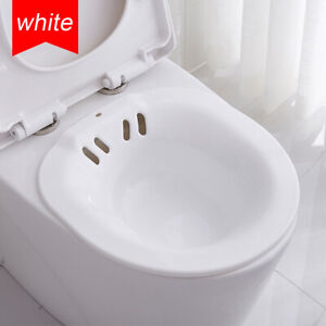Hanging Toilet Sitz Bath for Postpartum Hemorrhoids Patients Healing AU
