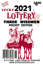 2021 Lucky Lottery Three Wisemen Pocket Edition - Lottery Book - Lottery