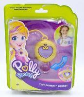 Polly Pocket Tiny Power Locket Light Up Charm Necklace Costume Jewelry Dress-Up